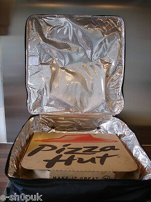 """Pizza Delivery Bag – 18"""" X 18"""" X 7"""" Fast Food Thermal Insulated Delivery Bags T5"""