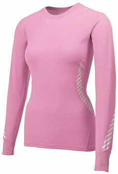 Helly Hansen Lifa Ladies Long Sleeve Baselayer Top  - Pink