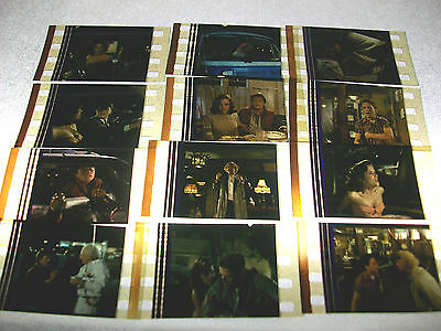 BACK TO THE FUTURE Film Cell Lot of 12 - collectible compliments movie dvd book