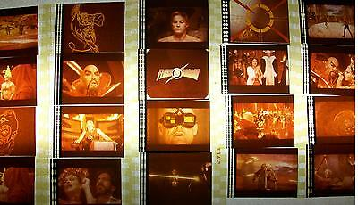 FLASH GORDON Jones Lot of 12 Film Cells Collection compliments movie dvd poster