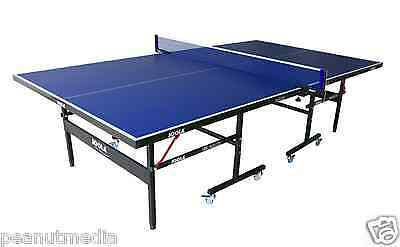 Joola Indoor Table Tennis Ping Pong Game Folding Multiuse Table Net Post Set New