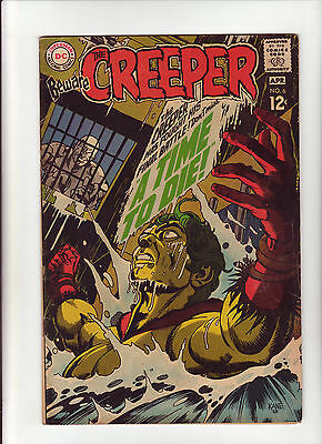 Beware the Creeper #6 VG 1969 DC Comic Drowning Cover