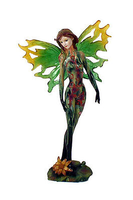 """Wholesale Case Lot of 36 Standing Green 10"""" Tall Fairy Figurine Winged"""