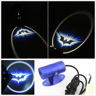 Motorcycle Bat Logo Ghost Shadow Projection Light Projector LED Laser For Honda