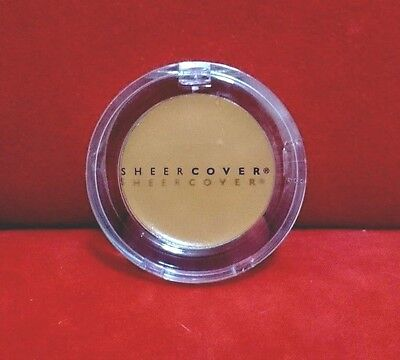 Sheer Cover Makeup CONCEALER & CONTOURING CREAM - TAN - (5g/0.18oz) Sealed New