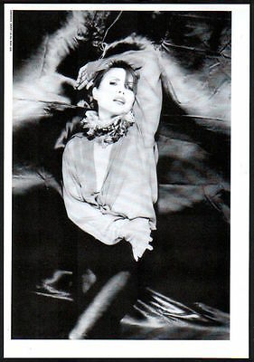 1993 Blondie JAPAN mag photo pinup mini poster / clipping cutting b11r