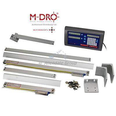 Easson 2-axis Digital Readout Complete Kit - Console + 2 Encoders Mill Lathe DRO