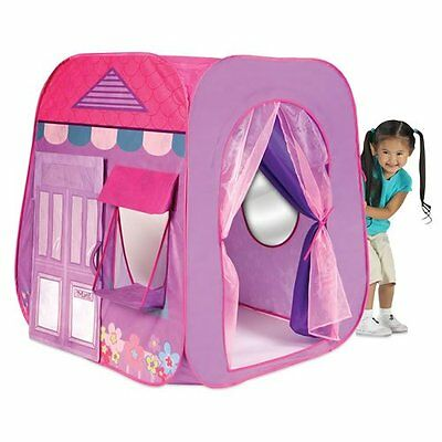 NEW Super Girly Pink Beauty Boutique Play Tent For Imaginative Play By PlayHut
