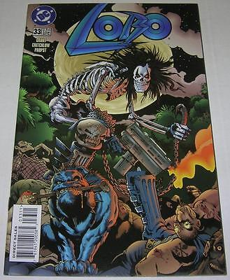 LOBO #33 (DC Comics 1996) Alan Grant & Carl Critchlow (FN/VF) Great cover! RARE