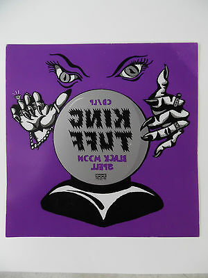 "King Tuff * Black Moon Spell * Vinyl Window Cling Promo Poster Sticker 9"" x 9"""