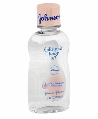 JOHNSON'S Baby Oil 3 oz
