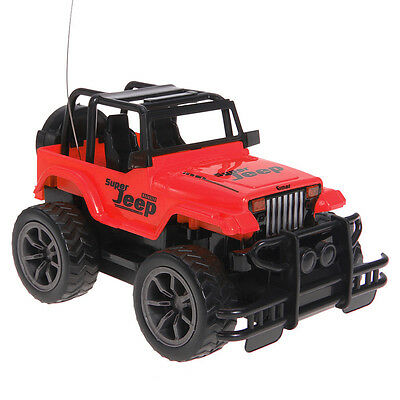 1:24 Remote Control Big Wheel Jeep off-road 4CH RC Car Vehicle Buggy Toys Red
