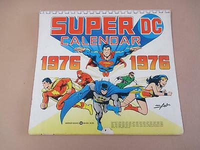 Super DC Comic Calendar 1976, Neal Adams