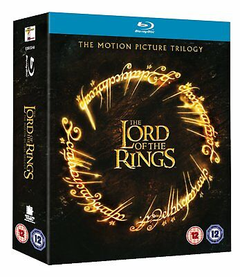 The Lord of the Rings Trilogy Fellowship Two Towers Blu-ray Reg B