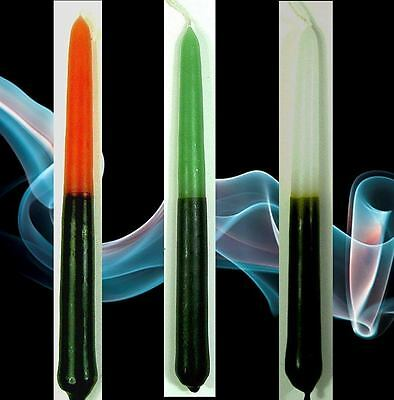 3 Black Dual Action Spell Candles 2 Hour 13 cm