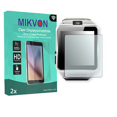 2x Mikvon Clear Screen Protector for Kiptop Cooler Android Smartwatch