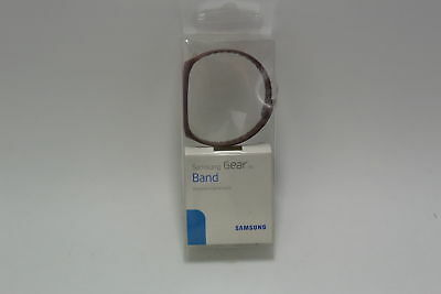 New Original Samsung Maroon Plastic Band Replacement for Gear Fit Smartwatch