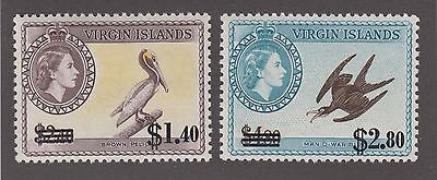 Virgin Islands #138 & #139 Mint Vf