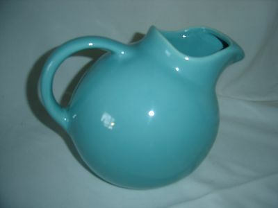 Vintage Franciscan Jade Pottery Ice Lip Ball Pitcher/ Water Jug ,Make Offer