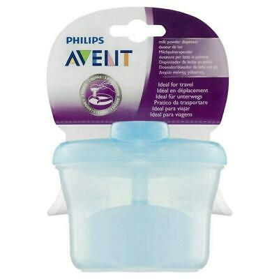 Avent - Milk Powder Dispenser Container - Blue 3 compartments - Brand New