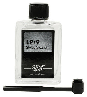 MOFI LP vinyl record #9 Stylus Cleaning Fluid + Brush (approx 15ml)) NEW/SEALED