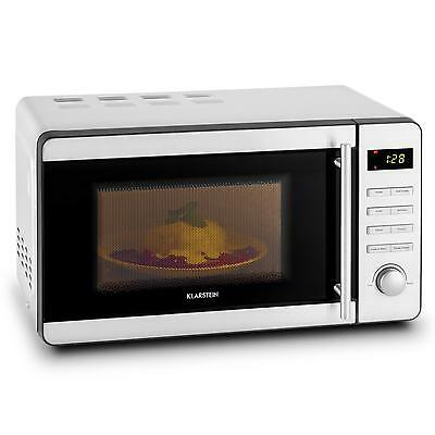 1000W Electric Microwave Oven Grill Combo Stainless Steel 20 L Defrost
