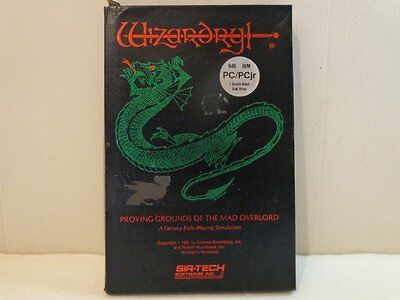 Wizardry: Proving Grounds of the Mad Overlord PC/PCjr Sir-Tech 1981 DARK SAVANT
