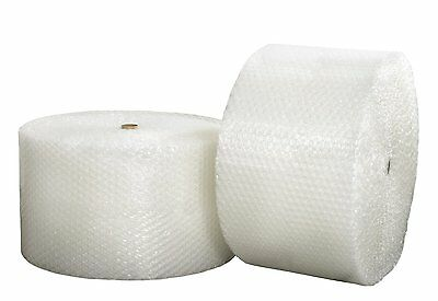 """Large Bubble Roll (Ship & Save Brand) 1/2"""" x 125' x 24""""  Bubbles Perforated Best"""