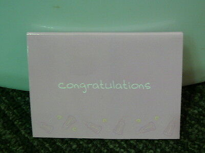 Congratulations Its a Baby Girl Gift Card 046