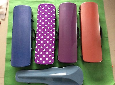 New nice violin case 4/4 carbon fiber different colors available