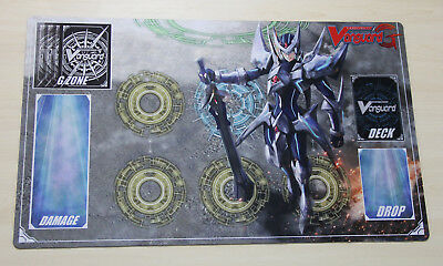 E484# FREE MAT BAG Blaster Blade Play Mat Vanguard G Game Playmat Rubber Circles