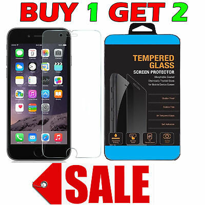 Genuine Tough Gorilla Tempered Glass Screen Protector for Apple iPhone 6S Plus