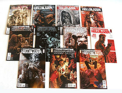 DC Comics Vertigo JOHN CONSTANTINE HELLBLAZER 10 issue set lot  by Mina & Manco