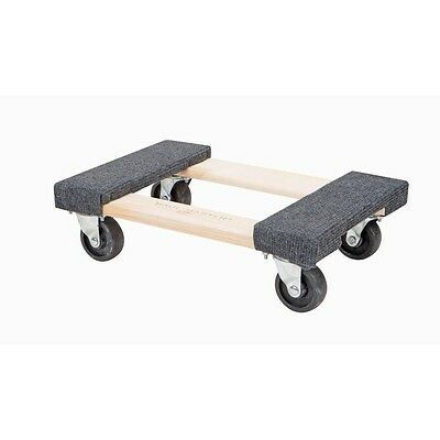 "SET/LOT of TWO (2) 1000 lb capacity 12""x 18"" Movers Moving Furniture Dolly NEW"