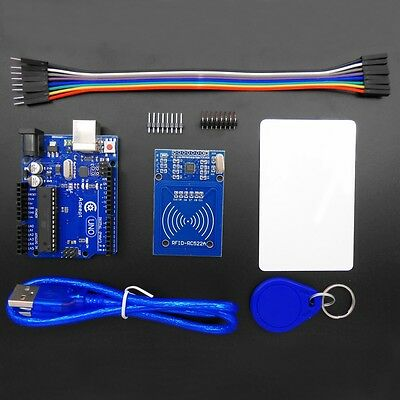 New Arduino UNO R3 with RC522 RFID Reader Kit user manual for Arduino