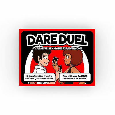 Dare Duel | Sexy Dares Card Game for Adult Couples or Friends | Tingletouch