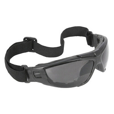 Radians Cuatro Bifocal Safety Goggles Glasses 2.5 Smoke Foam Lined Reading