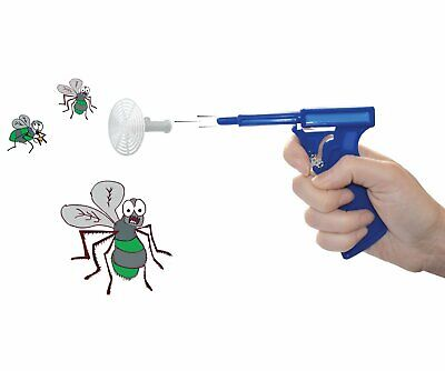 2 x Fly Swatter Swat Gun - Mosquito Fly Flying Insect Pest Blaster Killer FlyGun
