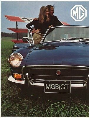 1971 MGB/GT Brochure, Excellent Condition