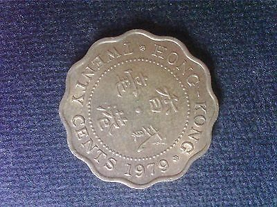 Hong Kong    20  Cents   1979