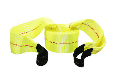 """ABN Tow Rope Strap 30 Feet' x 4"""" Inch, 20,000 Pound Heavy Duty Towing Nylon"""