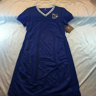 Memphis Tigers Girlie Game Gear Jersey Dress Sz Small (2-4) NWT Retail $79.99