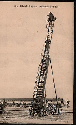 X5307   Ww1  Big Ladder Spy Observation Post For Canon Fire Postcard