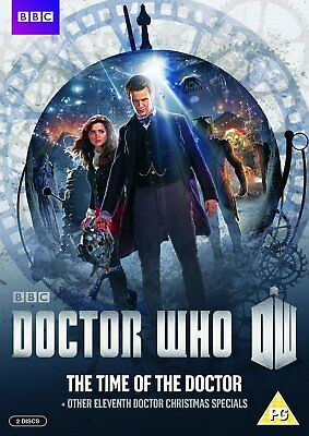 Doctor Who The Time of the Doctor and Christmas Specials Region 2 New DVD