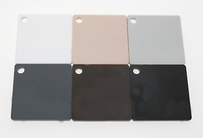 Matte Acrylic Sheets In Beige, Grey, Brown, Black, White, Natural Range