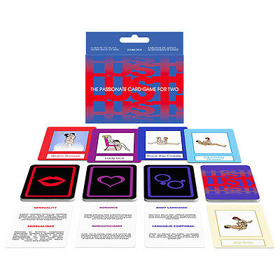 Lust! Adult Card Game | Fun Saucy Naughty Gift Stocking Filler | Foreplay Fun