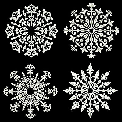 Snowflakes 2 - 30 Machine Embroidery Designs (Azeb)