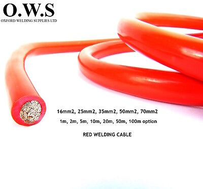 Pvc Copper Battery Starter / Earth / Welding Cable Red