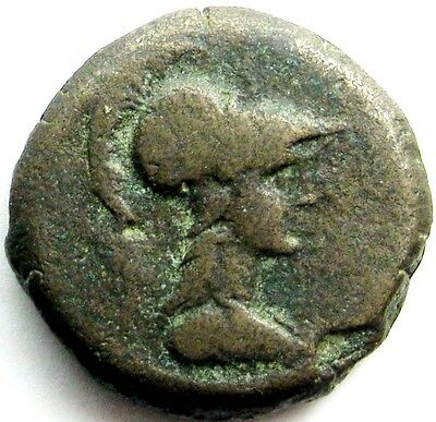 Iberia, Carthago Nova_late 1st century BC - early first century AD_AE Semis