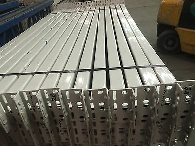 Used Teardrop Pallet Rack Shelving Racking Sections scaffolding one beam 96""